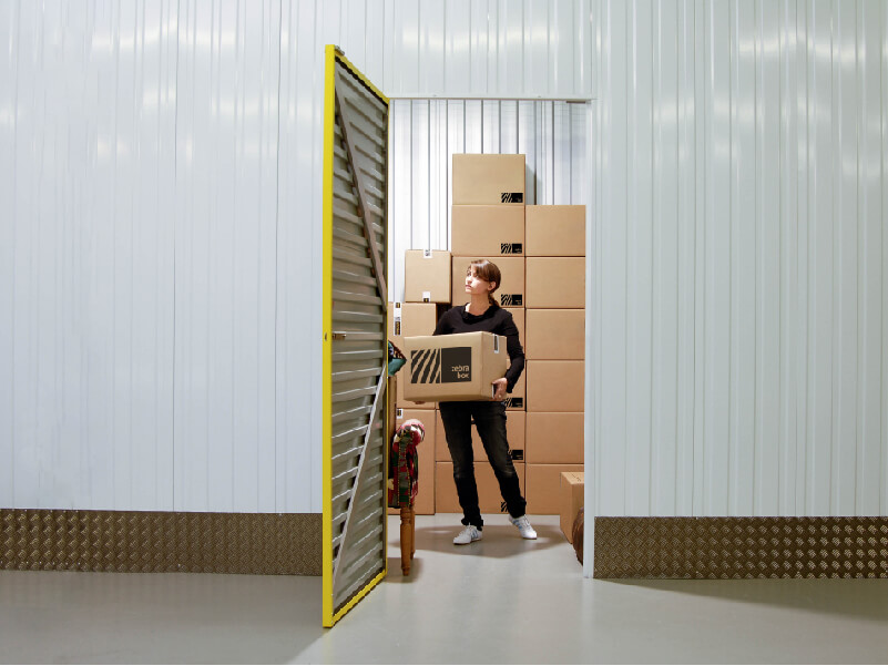 Storage space at Zebrabox