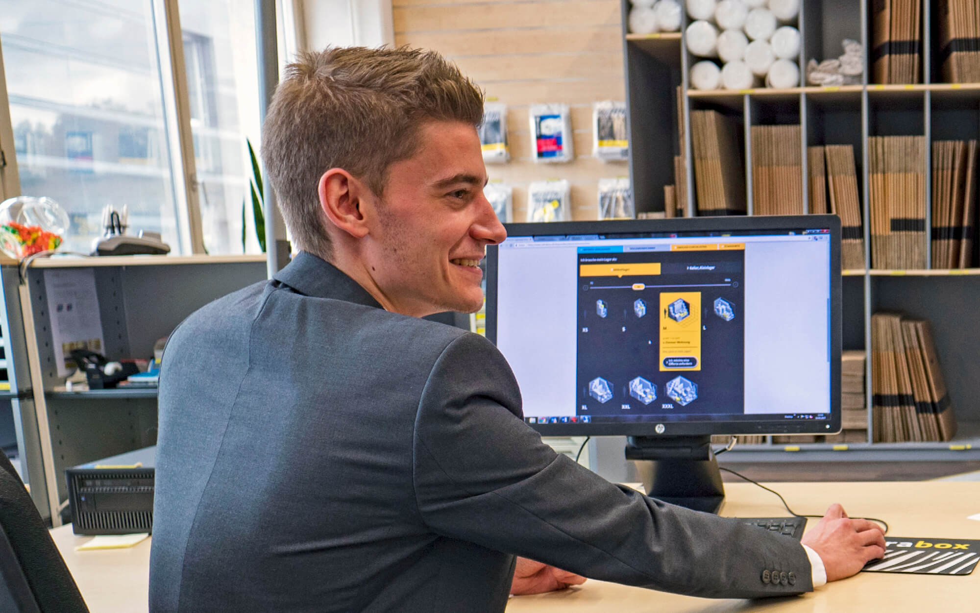 Cyril, Customer Manager bei Zebrabox