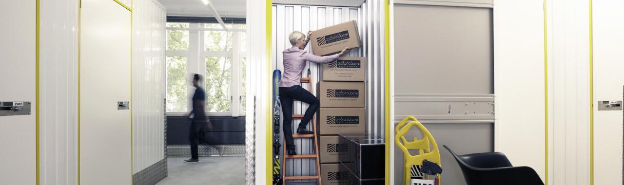 Box de stockage temporaire