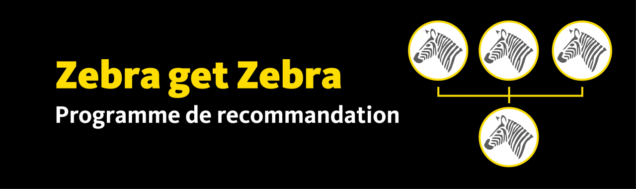 Zebra get Zebra programme de recommandation