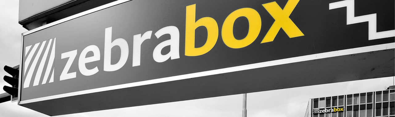Wegweiser zur Zebrabox