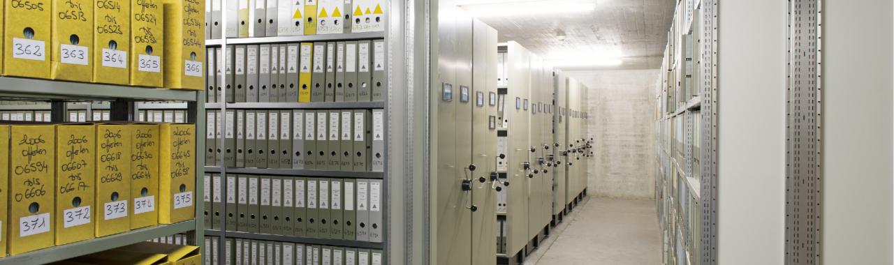 Wie lagert man Archive richtig?