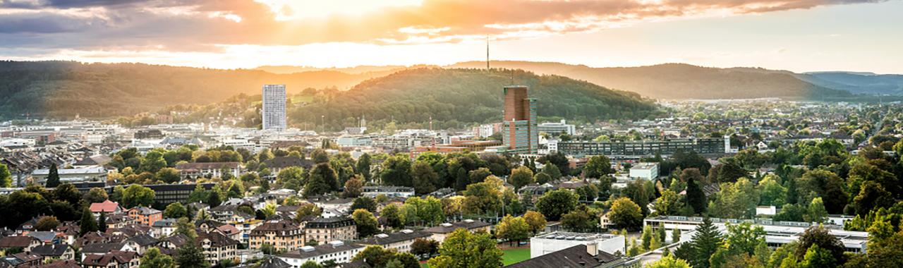 Blick über Winterthur