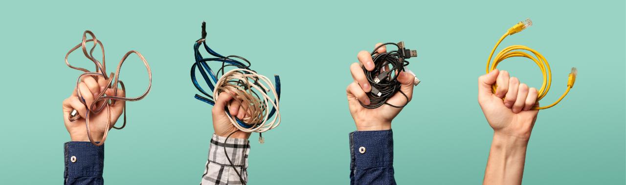 Câbles en faisceau