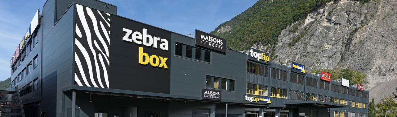 Stockage chez Zebrabox