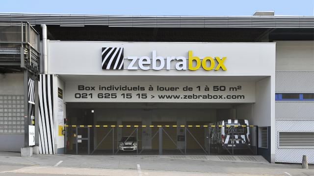 Bâtiment Zebrabox Lausanne