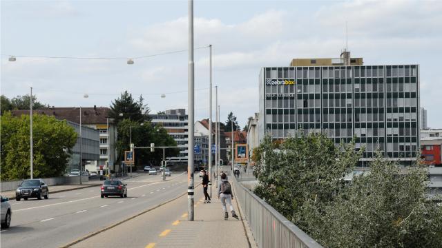 Zebrabox Bern von Monjijoubrücke