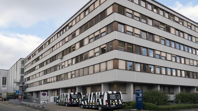 Gebäude Zebrabox Basel Rückseite