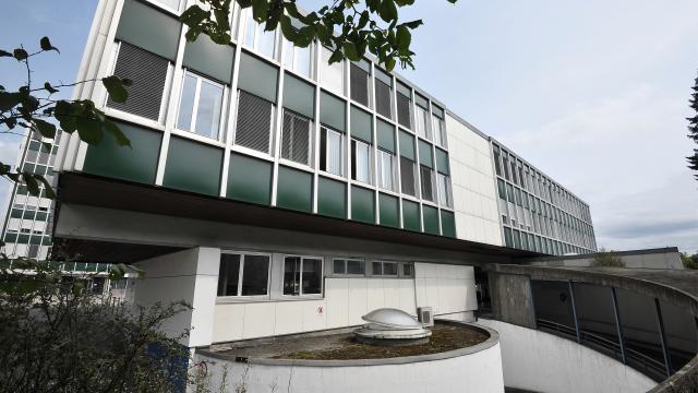 Rückseite Gebäude Zebrabox Bern