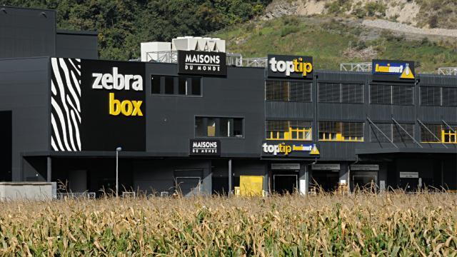 Bâtiment Zebrabox Villeneuve
