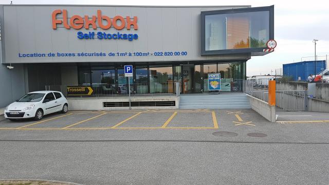 Gebäude Flexbox Genf