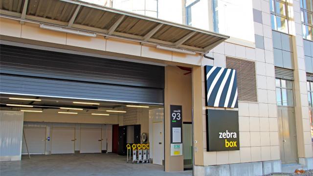 Privater Eingang von Zebrabox