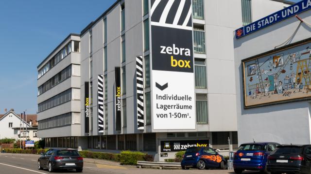 Gebäude Zebrabox Basel