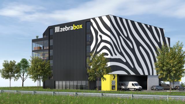 Construction d'un zebrabox à Winterthur