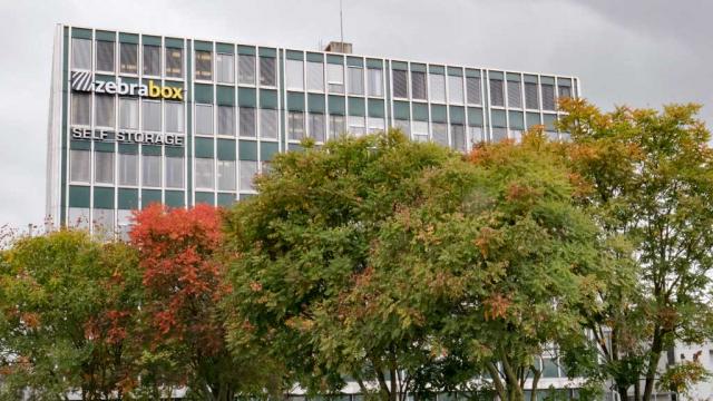 Gebäude Zebrabox Bern