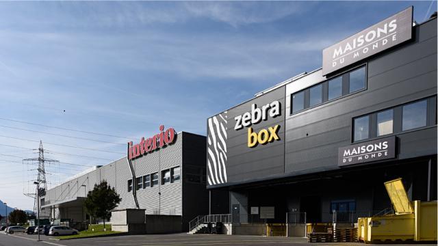 Bâtiment Zebrabox Villeneuve latéral