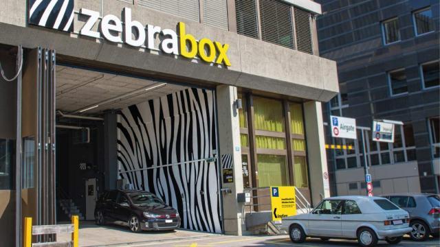 Hauptrampe Zebrabox Zürich