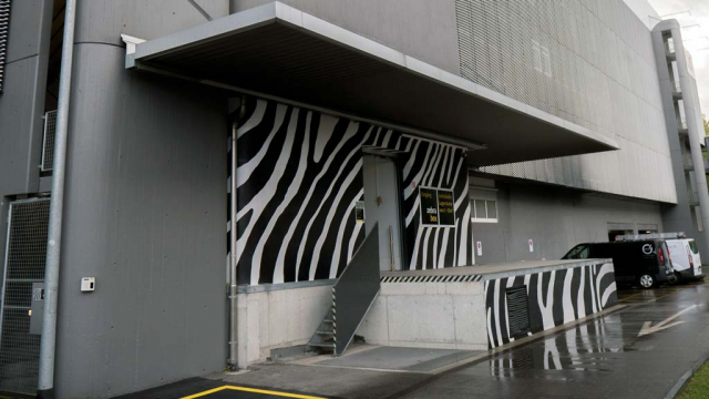 Rampe Zebrabox Spreitenbach