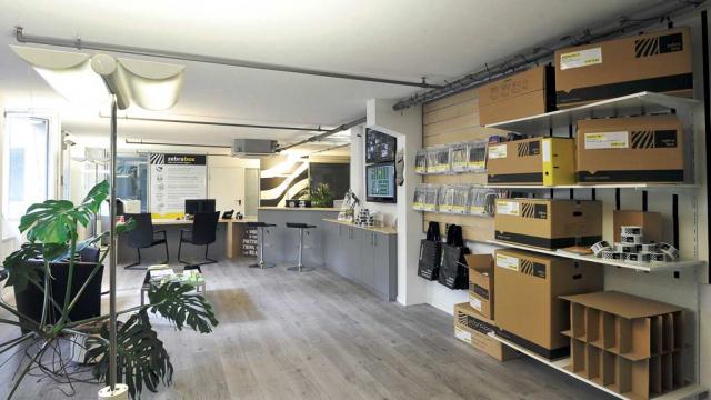 Reception Zebrabox Bern