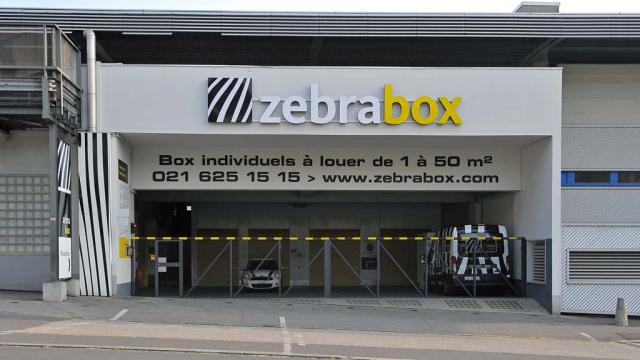Zebrabox Lausanne Eingang